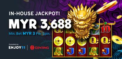 Genting 5 Dragon In-House Jackpot MYR6,888 Mobile Banner