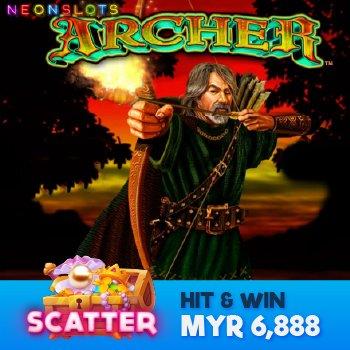 Win MYR6,888 in Archer Scatter Gambling Slot Games