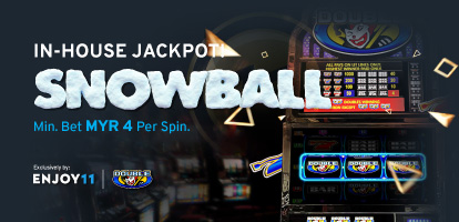 Enjoy11 In-House Jackpot Snowball Mobile Banner